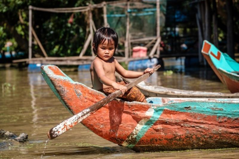 Kompong Phluk, Cambodia