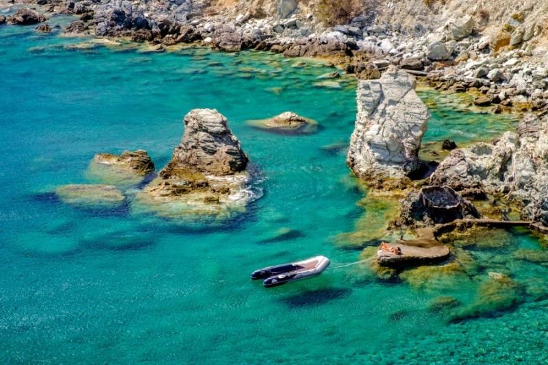 Galifos Cove, Folegandros