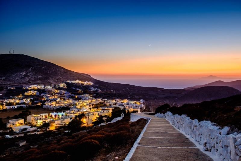 Chora, Folegandros