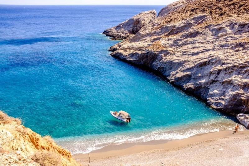 Katergo Beach, Folegandros