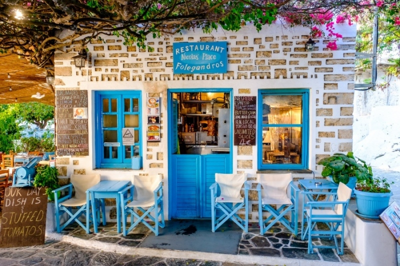 Nicolas' Place, Folegandros Chora