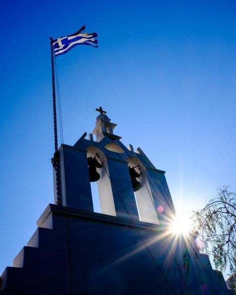 Church, Folegandros Chora