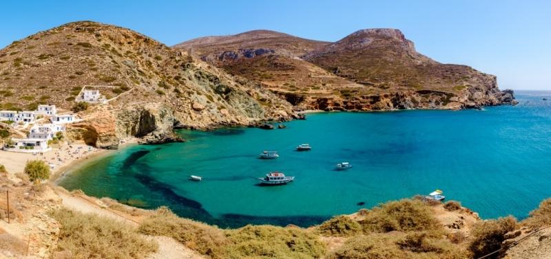 Agkali Cove, Folegandros