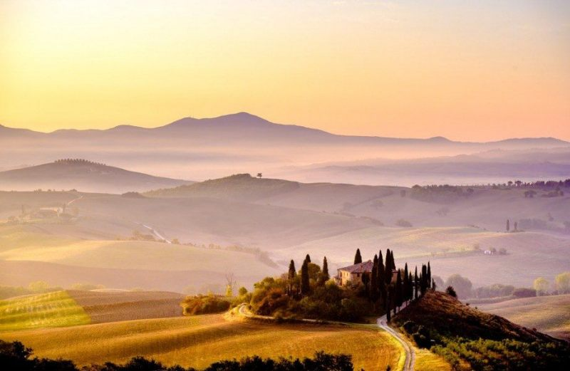 Podere Belvedere, Val D'Orcia, Tuscany