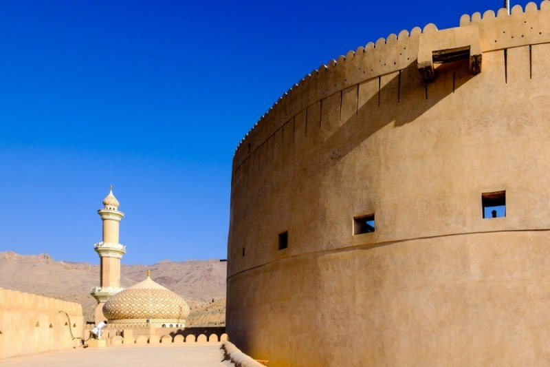 Fort and Mosque, Nizwa