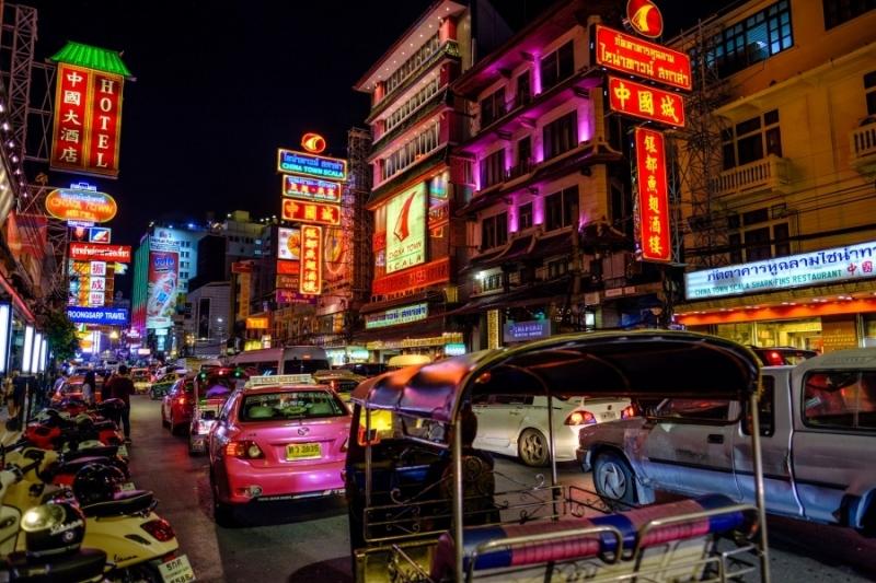 Yaowarat Rd, Chinatown, Bangkok