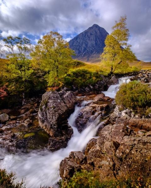 Glen Etive Falls, Scotland